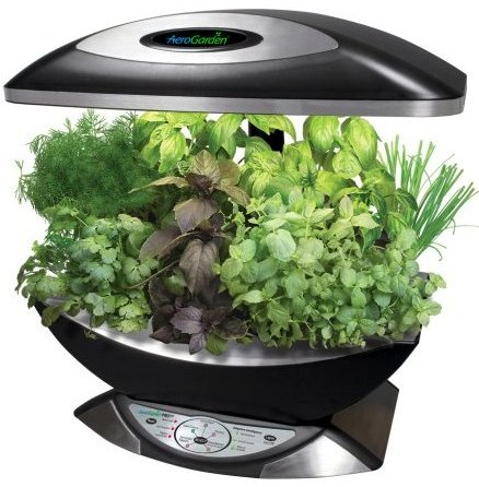 AeroGarden Pro 100 with Gourmet Herb Seed Kit