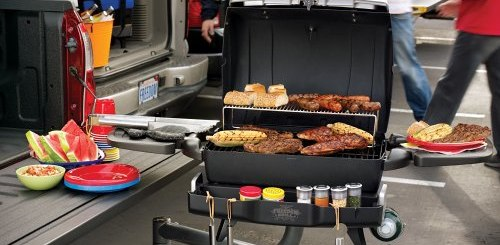 Freedom Grill FG-50 Hitchmount Portable Propane BBQ Grill